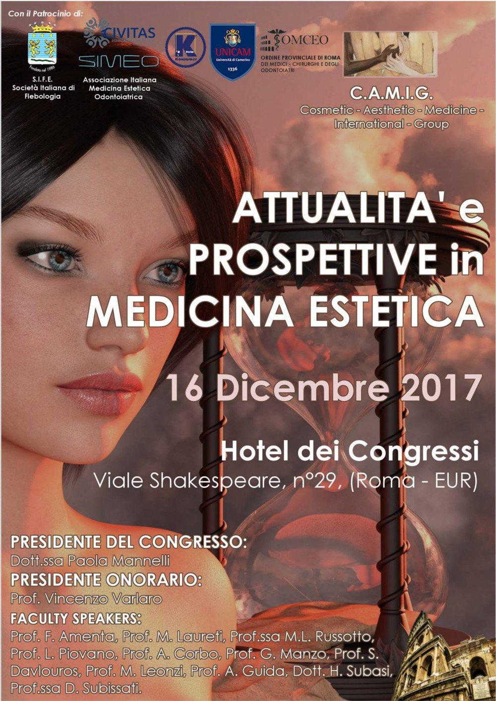 Cosmetic Aesthetic Medicine International Group | 16.12.17 | 1