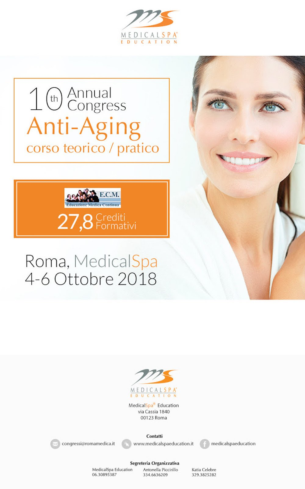 10th annual congress anti-aging medicalspa education - Dr. Luca Piovano - revised