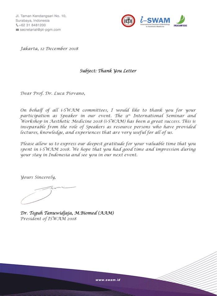 i-SWAM 2018 Indonesia - Dr. Luca Piovano
