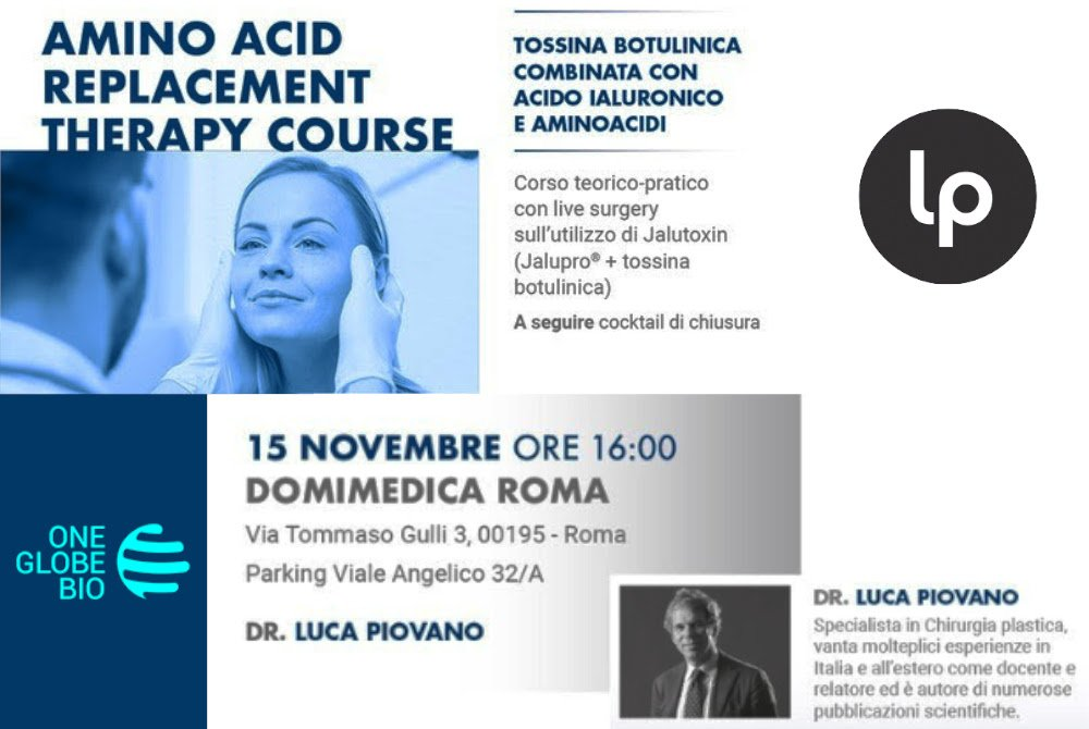 amino acid replacement therapy course luca piovano